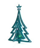 Juguete de la Navidad con las estrellas aisladas Foto de archivo libre de regalías