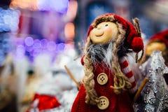 Juguete de la Navidad en alameda Fotografía de archivo libre de regalías
