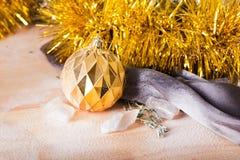 Juguete de la Navidad en vida inmóvil Fotos de archivo