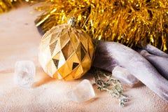 Juguete de la Navidad en vida inmóvil Imagen de archivo libre de regalías