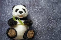 Juguete de la panda Imágenes de archivo libres de regalías