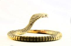 Juguete de la serpiente de la cobra real Fotografía de archivo