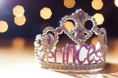 Juguete de la tiara de la princesa Foto de archivo