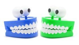 Juguete de los dientes del rechino Imagen de archivo libre de regalías