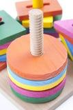 Juguete de madera Imágenes de archivo libres de regalías