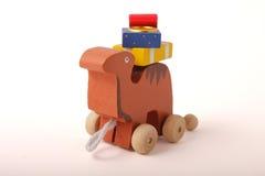 Juguete de madera Foto de archivo libre de regalías