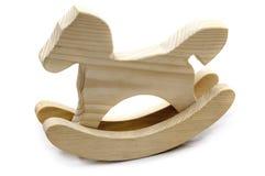 Juguete de madera hecho a mano foto de archivo