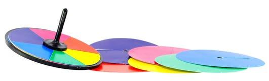 Juguete de mezcla del tiovivo del color Imagenes de archivo
