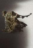 Juguete de oro del ángel Fotos de archivo libres de regalías