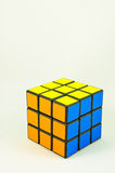 Juguete de Rubik Imágenes de archivo libres de regalías