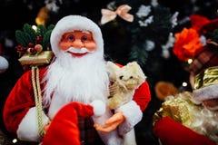 Juguete de Santa Claus Fotografía de archivo