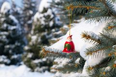 Juguete de Santa Claus Foto de archivo
