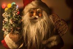 Juguete de Santa Claus Foto de archivo libre de regalías