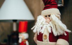 Juguete de Santa Claus Fotos de archivo libres de regalías