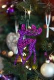 Juguete del árbol de Navidad Fotos de archivo libres de regalías