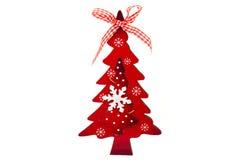 Juguete del árbol de navidad luminoso Imagenes de archivo