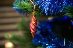 Juguete del abeto de la Navidad holiday Año Nuevo indoor Foto de archivo libre de regalías