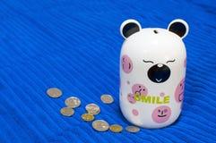 Juguete del ahorrador de dinero Foto de archivo libre de regalías