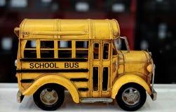 Juguete del autobús Fotos de archivo libres de regalías