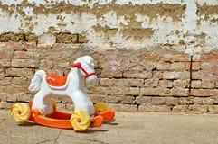 Juguete del caballo mecedora Foto de archivo libre de regalías