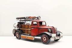 Juguete del coche del fuego Imágenes de archivo libres de regalías