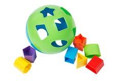 Juguete del compaginador de la dimensión de una variable de Childs Imágenes de archivo libres de regalías
