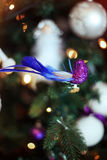 Juguete del diseño del árbol de navidad Imágenes de archivo libres de regalías