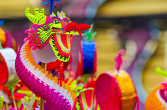 Juguete del dragón Fotografía de archivo