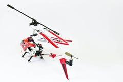 Juguete del helicóptero fotografía de archivo