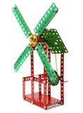 Juguete del molino de viento Imágenes de archivo libres de regalías