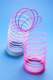 Juguete del muelle en espiral Foto de archivo libre de regalías