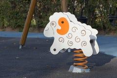 Juguete del parque del resorte de los niños Imágenes de archivo libres de regalías