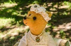 juguete del Peluche-oso Foto de archivo libre de regalías