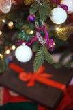 Juguete del árbol de navidad Fotografía de archivo