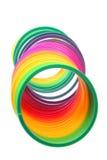 Juguete del resorte espiral Fotografía de archivo libre de regalías