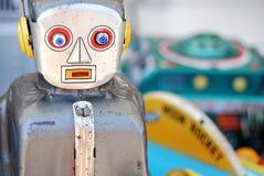 Juguete del robot Fotografía de archivo