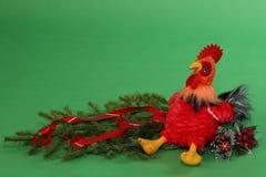 Juguete del ` s de los niños del gallo Imágenes de archivo libres de regalías
