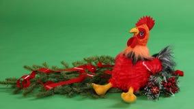 Juguete del ` s de los niños del gallo Fotos de archivo