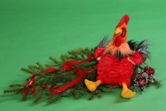 Juguete del ` s de los niños del gallo Imagen de archivo