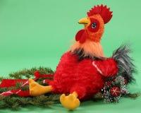 Juguete del ` s de los niños del gallo Imagen de archivo libre de regalías