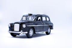 Juguete del taxi de Londres Imagenes de archivo