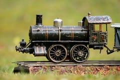 Juguete del tren Fotografía de archivo
