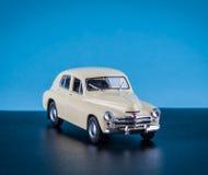 Juguete del vintage los coches Imágenes de archivo libres de regalías