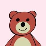 Juguete divertido del animal de la historieta del oso libre illustration