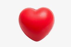 Juguete en forma de corazón de la tensión Fotografía de archivo libre de regalías