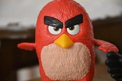 Juguete enojado de los pájaros Fotografía de archivo