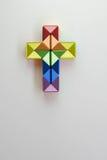Juguete gay de la torsión del crucifijo Fotografía de archivo libre de regalías