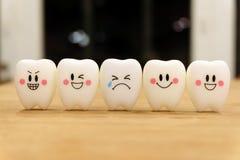 Juguete lindo de los dientes Foto de archivo libre de regalías