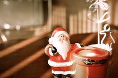 Juguete lindo Santa Claus Foto de archivo