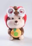 Juguete o año chino de los juguetes de los niños de los peluches del mono Fotos de archivo libres de regalías